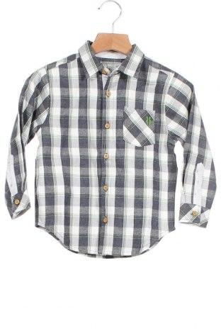 Παιδικό πουκάμισο Tutto Piccolo, Μέγεθος 2-3y/ 98-104 εκ., Χρώμα Πολύχρωμο, Βαμβάκι, Τιμή 12,56€