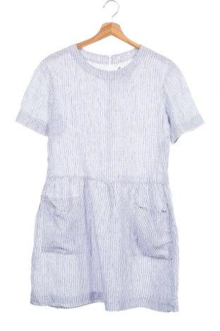 Παιδικό φόρεμα Eddie Pen, Μέγεθος 13-14y/ 164-168 εκ., Χρώμα Μπλέ, 100% λινό, Τιμή 14,81€