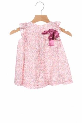 Детска рокля Fina Ejerique, Размер 12-18m/ 80-86 см, Цвят Розов, Памук, Цена 32,00лв.