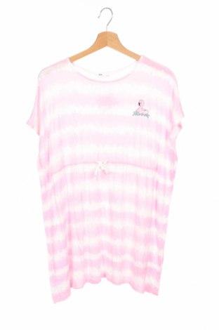 Dětské šaty  H&M, Velikost 10-11y/ 146-152 cm, Barva Růžová, Viskóza, Cena  134,00Kč