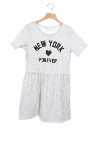 Παιδικό φόρεμα H&M, Μέγεθος 10-11y/ 146-152 εκ., Χρώμα Γκρί, Βαμβάκι, Τιμή 9,55€