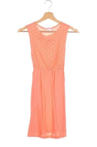Παιδικό φόρεμα Inside, Μέγεθος 12-13y/ 158-164 εκ., Χρώμα Πορτοκαλί, Βισκόζη, Τιμή 8,93€