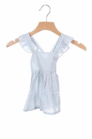 Παιδικό φόρεμα Lola Palacios, Μέγεθος 6-9m/ 68-74 εκ., Χρώμα Μπλέ, Βαμβάκι, Τιμή 7,60€