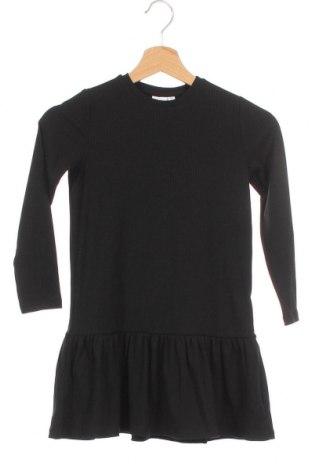 Παιδικό φόρεμα Name It, Μέγεθος 5-6y/ 116-122 εκ., Χρώμα Μαύρο, 65% πολυεστέρας, 30% βισκόζη, 5% ελαστάνη, Τιμή 13,75€