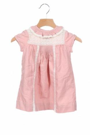 Παιδικό φόρεμα Neck & Neck, Μέγεθος 12-18m/ 80-86 εκ., Χρώμα Ρόζ , Βαμβάκι, Τιμή 26,97€