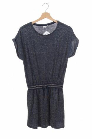 Παιδικό φόρεμα Pomp De Lux, Μέγεθος 14-15y/ 168-170 εκ., Χρώμα Μπλέ, 62% βισκόζη, 19% μεταλλικά νήματα, 16% πολυεστέρας, 3% ελαστάνη, Τιμή 14,19€