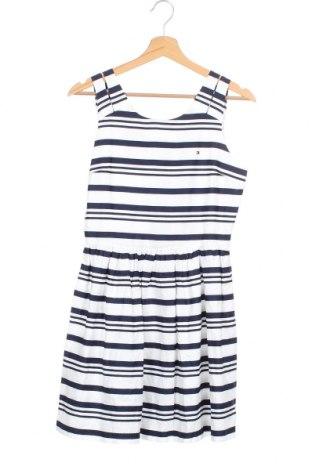 Детска рокля Tommy Hilfiger, Размер 15-18y/ 170-176 см, Цвят Бял, Памук, Цена 56,07лв.