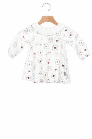 Dětské šaty  Tutto Piccolo, Velikost 3-6m/ 62-68 cm, Barva Bílá, 80% bavlna, 20% polyester, Cena  214,00Kč