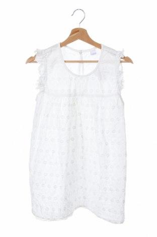 Παιδικό φόρεμα Y.F.K., Μέγεθος 15-18y/ 170-176 εκ., Χρώμα Λευκό, Βαμβάκι, Τιμή 10,52€