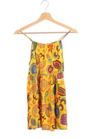Παιδικό φόρεμα Zara Kids, Μέγεθος 13-14y/ 164-168 εκ., Χρώμα Κίτρινο, Βαμβάκι, Τιμή 9,53€