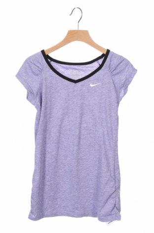 Παιδική μπλούζα αθλητική Nike, Μέγεθος 7-8y/ 128-134 εκ., Χρώμα Βιολετί, 85% πολυεστέρας, 15% βαμβάκι, Τιμή 12,99€