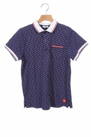 Παιδικό μπλουζάκι Tutto Piccolo, Μέγεθος 9-12m/ 74-80 εκ., Χρώμα Μπλέ, 95% βαμβάκι, 5% ελαστάνη, Τιμή 8,25€