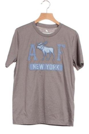 Παιδικό μπλουζάκι Abercrombie Kids, Μέγεθος 11-12y/ 152-158 εκ., Χρώμα Γκρί, 60% βαμβάκι, 40% πολυεστέρας, Τιμή 21,08€