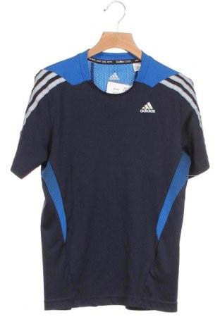 Παιδικό μπλουζάκι Adidas, Μέγεθος 11-12y/ 152-158 εκ., Χρώμα Μπλέ, 52% πολυεστέρας, 48% πολυεστέρας, Τιμή 10,39€