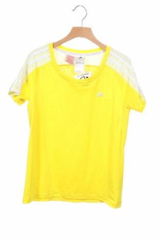 Παιδικό μπλουζάκι Adidas, Μέγεθος 11-12y/ 152-158 εκ., Χρώμα Κίτρινο, Πολυεστέρας, Τιμή 20,78€