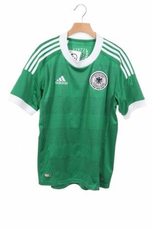 Παιδικό μπλουζάκι Adidas, Μέγεθος 13-14y/ 164-168 εκ., Χρώμα Πράσινο, Πολυεστέρας, Τιμή 9,10€