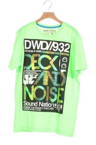 Παιδικό μπλουζάκι Here+There, Μέγεθος 15-18y/ 170-176 εκ., Χρώμα Πράσινο, Πολυεστέρας, Τιμή 3,86€