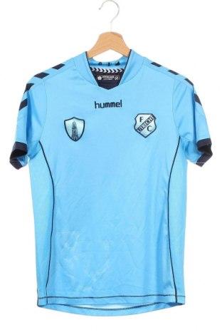 Παιδικό μπλουζάκι Hummel, Μέγεθος 13-14y/ 164-168 εκ., Χρώμα Μπλέ, Πολυεστέρας, Τιμή 5,71€