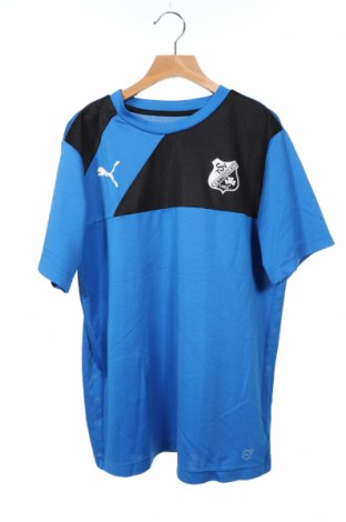 Παιδικό μπλουζάκι PUMA, Μέγεθος 15-18y/ 170-176 εκ., Χρώμα Μπλέ, Πολυεστέρας, Τιμή 13,51€