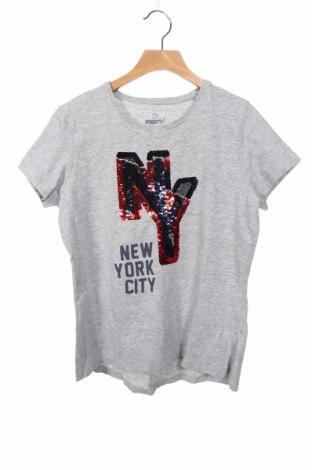 Παιδικό μπλουζάκι Pepperts!, Μέγεθος 12-13y/ 158-164 εκ., Χρώμα Γκρί, 85% βαμβάκι, 10% βισκόζη, 5% ελαστάνη, Τιμή 5,91€