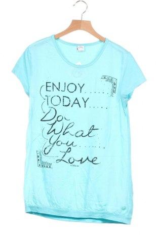 Παιδικό μπλουζάκι S.Oliver, Μέγεθος 12-13y/ 158-164 εκ., Χρώμα Μπλέ, Βαμβάκι, Τιμή 5,52€