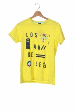 Παιδικό μπλουζάκι Y.F.K., Μέγεθος 12-13y/ 158-164 εκ., Χρώμα Κίτρινο, Βαμβάκι, Τιμή 7,60€
