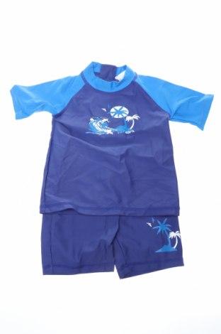 Μαγιό παιδικό, Μέγεθος 9-12m/ 74-80 εκ., Χρώμα Μπλέ, 80% πολυαμίδη, 20% ελαστάνη, Τιμή 11,36€