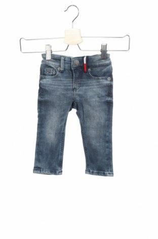 Παιδικά τζίν Tommy Hilfiger, Μέγεθος 6-9m/ 68-74 εκ., Χρώμα Μπλέ, 87% βαμβάκι, 11% πολυεστέρας, 2% ελαστάνη, Τιμή 38,27€