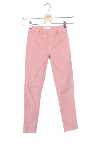 Παιδικό κοτλέ παντελόνι Mango, Μέγεθος 7-8y/ 128-134 εκ., Χρώμα Ρόζ , 98% βαμβάκι, 2% ελαστάνη, Τιμή 16,15€
