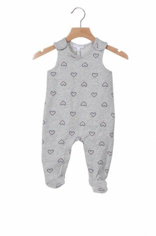 Παιδική σαλοπέτα Belly Button, Μέγεθος 3-6m/ 62-68 εκ., Χρώμα Γκρί, 95% βαμβάκι, 5% ελαστάνη, Τιμή 12,16€