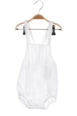 Παιδική σαλοπέτα Lola Palacios, Μέγεθος 9-12m/ 74-80 εκ., Χρώμα Λευκό, Βαμβάκι, Τιμή 6,70€