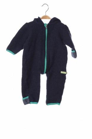 Παιδική σαλοπέτα Loud + Proud, Μέγεθος 9-12m/ 74-80 εκ., Χρώμα Μπλέ, 75% μαλλί, 25% βαμβάκι, Τιμή 11,55€