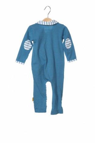 Παιδική σαλοπέτα Steiff, Μέγεθος 6-9m/ 68-74 εκ., Χρώμα Μπλέ, 95% βαμβάκι, 5% ελαστάνη, Τιμή 14,95€