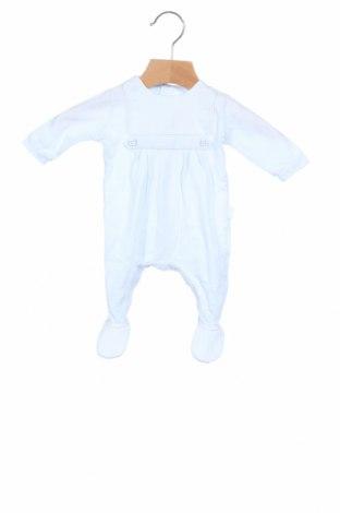 Παιδική σαλοπέτα Tutto Piccolo, Μέγεθος 0-1m/ 50 εκ., Χρώμα Μπλέ, Βαμβάκι, Τιμή 8,42€