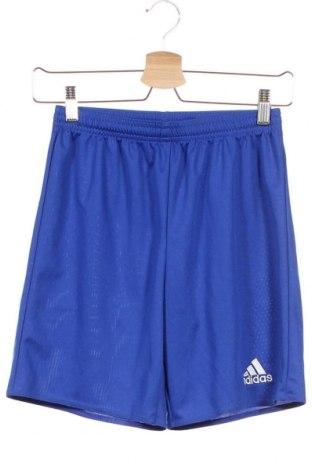 Παιδικό κοντό παντελόνι Adidas, Μέγεθος 12-13y/ 158-164 εκ., Χρώμα Μπλέ, Πολυεστέρας, Τιμή 11,11€