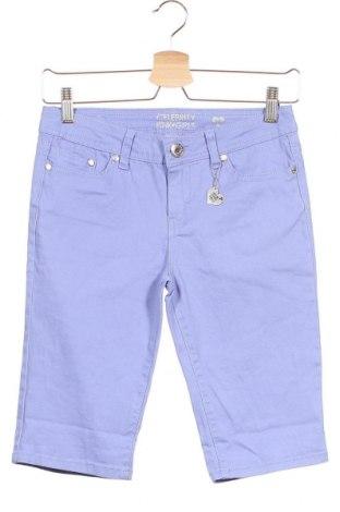 Παιδικό κοντό παντελόνι Celebrity Pink, Μέγεθος 13-14y/ 164-168 εκ., Χρώμα Βιολετί, 98% βαμβάκι, 2% ελαστάνη, Τιμή 11,72€