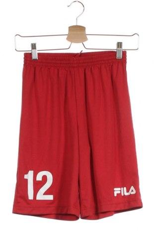 Παιδικό κοντό παντελόνι Fila, Μέγεθος 12-13y/ 158-164 εκ., Χρώμα Κόκκινο, Πολυεστέρας, Τιμή 9,25€