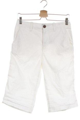 Детски къс панталон H&M L.O.G.G., Размер 14-15y/ 168-170 см, Цвят Бял, Памук, Цена 24,36лв.