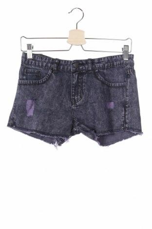 Παιδικό κοντό παντελόνι Inside, Μέγεθος 15-18y/ 170-176 εκ., Χρώμα Μπλέ, Βαμβάκι, Τιμή 5,20€