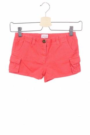Παιδικό κοντό παντελόνι Neck & Neck, Μέγεθος 6-7y/ 122-128 εκ., Χρώμα Κόκκινο, Βαμβάκι, Τιμή 10,83€