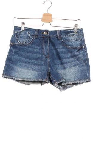 Παιδικό κοντό παντελόνι Next, Μέγεθος 12-13y/ 158-164 εκ., Χρώμα Μπλέ, Βαμβάκι, Τιμή 8,96€
