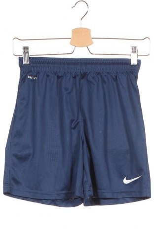 Παιδικό κοντό παντελόνι Nike, Μέγεθος 8-9y/ 134-140 εκ., Χρώμα Μπλέ, Πολυεστέρας, Τιμή 8,31€