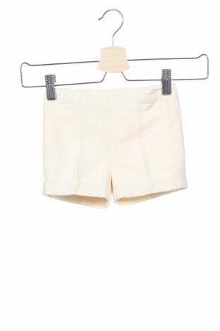 Παιδικό κοντό παντελόνι Pili Carrera, Μέγεθος 9-12m/ 74-80 εκ., Χρώμα Εκρού, 42% λινό, 58% βαμβάκι, Τιμή 11,56€