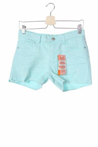 Παιδικό κοντό παντελόνι Staccato, Μέγεθος 15-18y/ 170-176 εκ., Χρώμα Μπλέ, 98% βαμβάκι, 2% ελαστάνη, Τιμή 9,28€