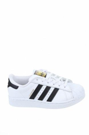 Παιδικά παπούτσια Adidas Originals, Μέγεθος 32, Χρώμα Λευκό, Γνήσιο δέρμα, δερματίνη, Τιμή 52,22€