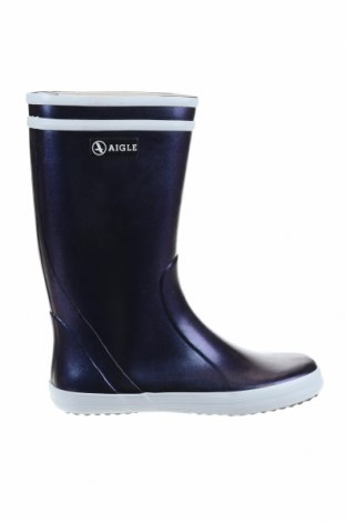 Детски обувки Aigle, Размер 34, Цвят Син, Полиуретан, Цена 51,60лв.
