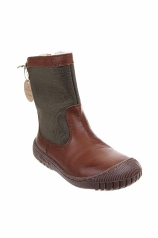 Детски обувки Bisgaard, Размер 30, Цвят Зелен, Естествена кожа, текстил, Цена 78,00лв.