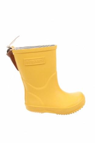 Παιδικά παπούτσια Bisgaard, Μέγεθος 24, Χρώμα Κίτρινο, Πολυουρεθάνης, Τιμή 21,52€