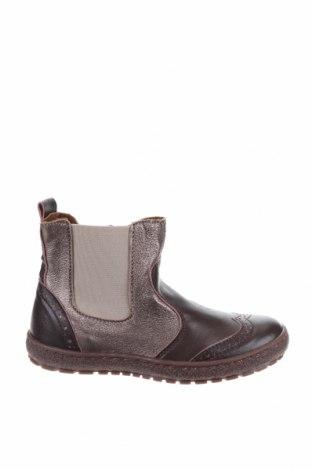 Детски обувки Bisgaard, Размер 31, Цвят Кафяв, Естествена кожа, текстил, Цена 81,75лв.
