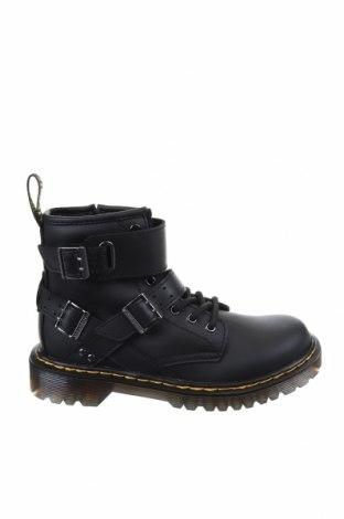 Παιδικά παπούτσια Dr. Martens, Μέγεθος 32, Χρώμα Μαύρο, Γνήσιο δέρμα, Τιμή 62,09€